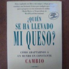 Libros de segunda mano: QUIEN SE HA LLEVADO MI QUESO (SPENCER JOHNSON, M. D.) EMPRESA ACTIVA - OFI15B. Lote 173149573