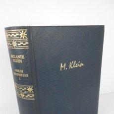 Libros de segunda mano: OBRAS COMPLETAS (I) MELANIE KLEIN - RBA 2004. Lote 194359542
