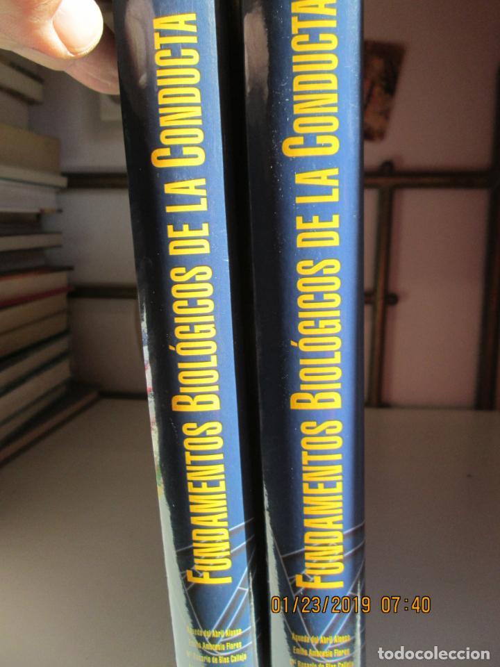 FUNDAMENTOS BIOLÓGICOS DE LA CONDUCTA . 2 VOLÚMENES - EDITORIAL SANZ Y TORRES 2003. (Libros de Segunda Mano - Pensamiento - Psicología)