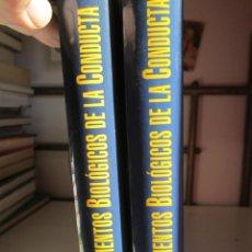 Libros de segunda mano: FUNDAMENTOS BIOLÓGICOS DE LA CONDUCTA . 2 VOLÚMENES - EDITORIAL SANZ Y TORRES 2003. . Lote 148221558