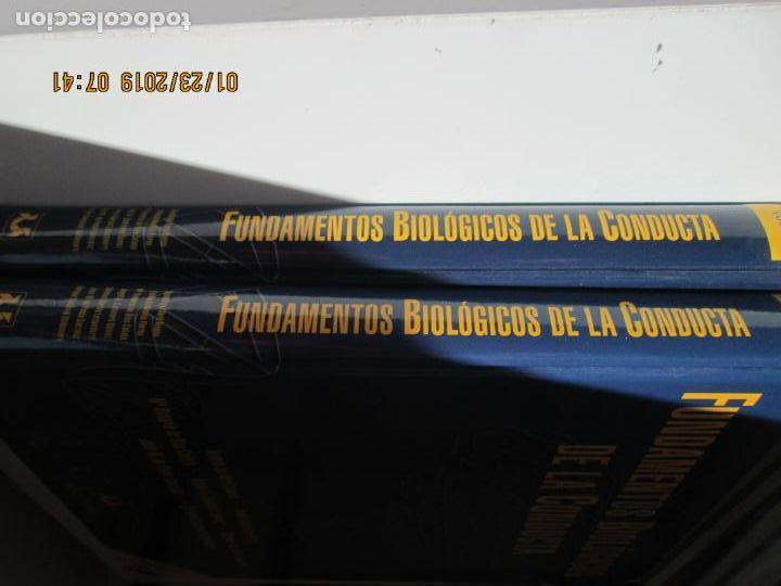 Libros de segunda mano: FUNDAMENTOS BIOLÓGICOS DE LA CONDUCTA . 2 VOLÚMENES - EDITORIAL SANZ Y TORRES 2003. - Foto 2 - 148221558