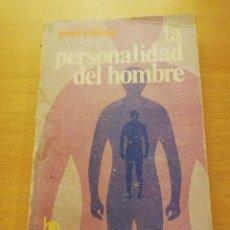 Libros de segunda mano: LA PERSONALIDAD DEL HOMBRE (JOSEF RATTNER). Lote 148497194
