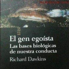 Libros de segunda mano: EL GEN EGOISTA - RICHARD DAWKINS - BIBLIOTECA CIENTÍFICA SALVAT - AÑO 1993. Lote 148960550