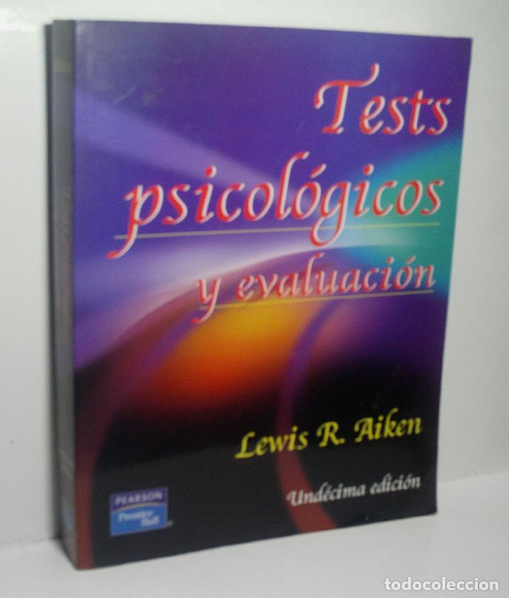 TESTS PSICOLÓGICOS Y EVALUACIÓN. AIKEN LEWIS R. 2003 (Libros de Segunda Mano - Pensamiento - Psicología)