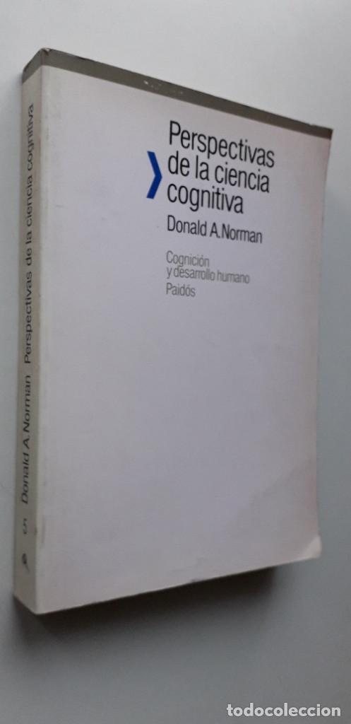 Libros de segunda mano: PERSPECTIVAS DE LA CIENCIA COGNITIVA - DONALD A. NORMAN - Foto 2 - 150237778