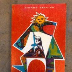 Libros de segunda mano: LA PSICOLOGÍA DEL COMPORTAMIENTO. PIERRE NAVILLE. EDICIONES GUADARRAMA 1970. 252 PÁGINAS.. Lote 150532729