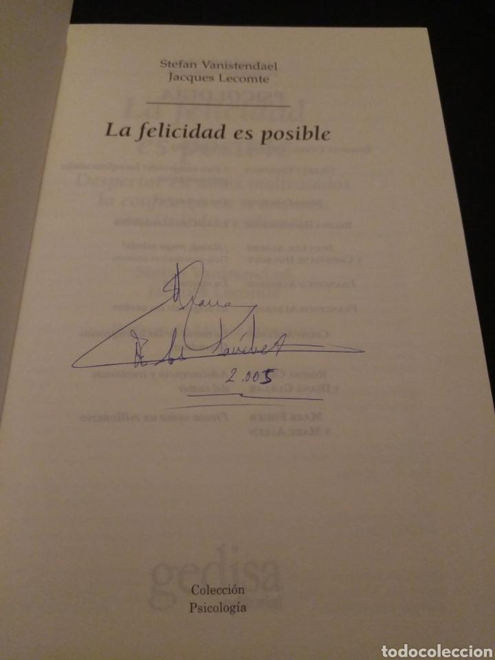 Libros de segunda mano: La felicidad es posible. Resiliencia. Stefan Vanistendael, Jacques Lecomte - Foto 3 - 150590598
