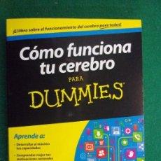 Second hand books - COMO FUNCIONA TU CEREBRO PARA DUMMIES / Néstor Braidot / 2014 - 151299202
