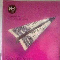 Libros de segunda mano: CORINNE MAIER - BUENOS DÍAS, PEREZA (ESTRATEGIAS PARA SOBREVIVIR EN EL TRABAJO). Lote 151518810