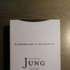 Libros de segunda mano: LA DINÁMICA DE LO INCONSCIENTE. Lote 151537098