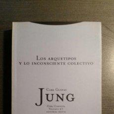 Libros de segunda mano: LOS ARQUETIPOS Y LO INCONSCIENTE COLECTIVO. Lote 151544442