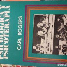 Libros de segunda mano: ORIENTACIÓN PSICOLÓGICA Y PSICOTERAPIA. (ROGERS, CARL). Lote 151616846