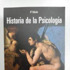 Libros de segunda mano: HISTORIA DE LA PSICOLOGÍA - LEAHEY, THOMAS H. Lote 151694140