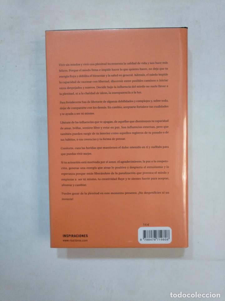 Libros de segunda mano: ATREVERSE A VIVIR. REFLEXIONES SOBRE EL MIEDO, LA VALENTIA Y LA PLENITUD. MIRIAM SUBIRANA. TDK367 - Foto 2 - 151737182