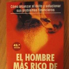 Libros de segunda mano: EL HOMBRE MÁS RICO DE BABILONIA. GEORGE S. CLASON. OBELISCO. Lote 151870476