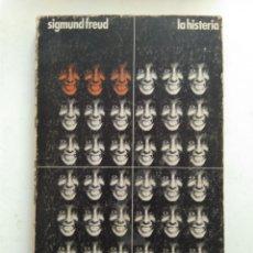 Libros de segunda mano: LA HISTERIA/SIGMUND FREUD. Lote 152013869