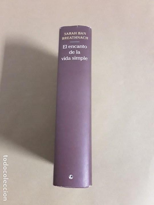Libros de segunda mano: El encanto de la vida simple,sarah ban breathnach.circulo de lectores 1997,libro raro. - Foto 2 - 152475426