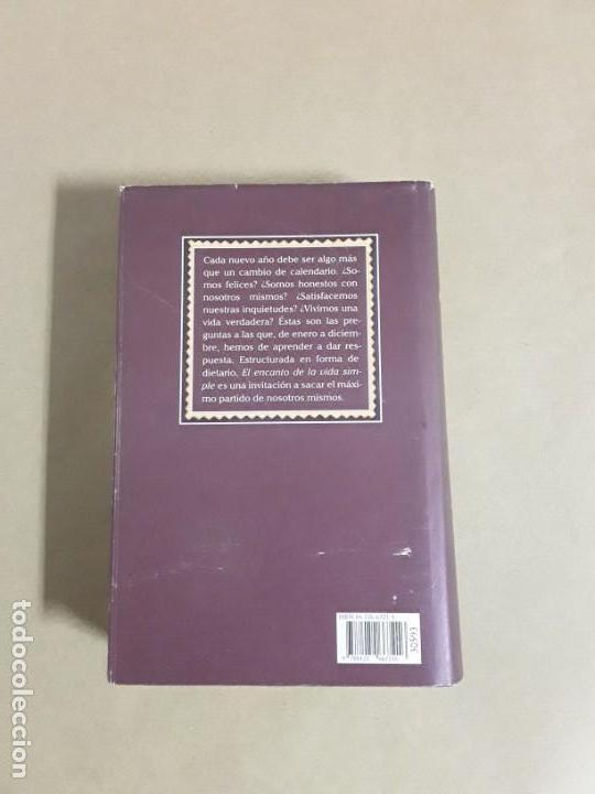 Libros de segunda mano: El encanto de la vida simple,sarah ban breathnach.circulo de lectores 1997,libro raro. - Foto 3 - 152475426