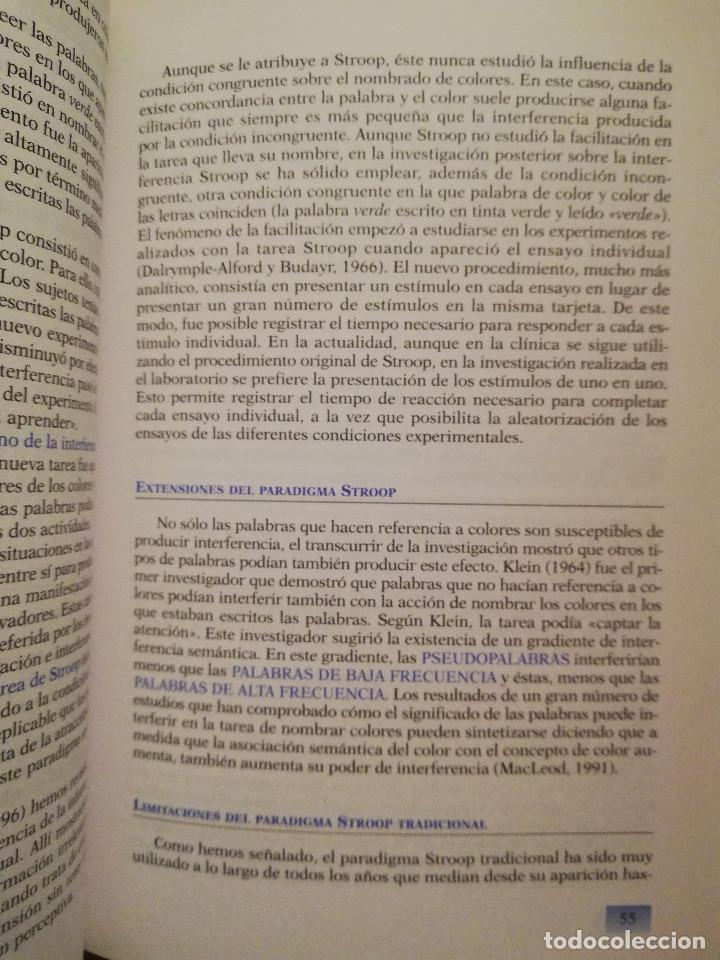 Libros de segunda mano: PRÁCTICAS DE PSICOLOGÍA BÁSICA: APRENDIENDO A INVESTIGAR. MANUAL DE PRÁCTICAS (BALLESTEROS / GARCÍA) - Foto 7 - 152632198