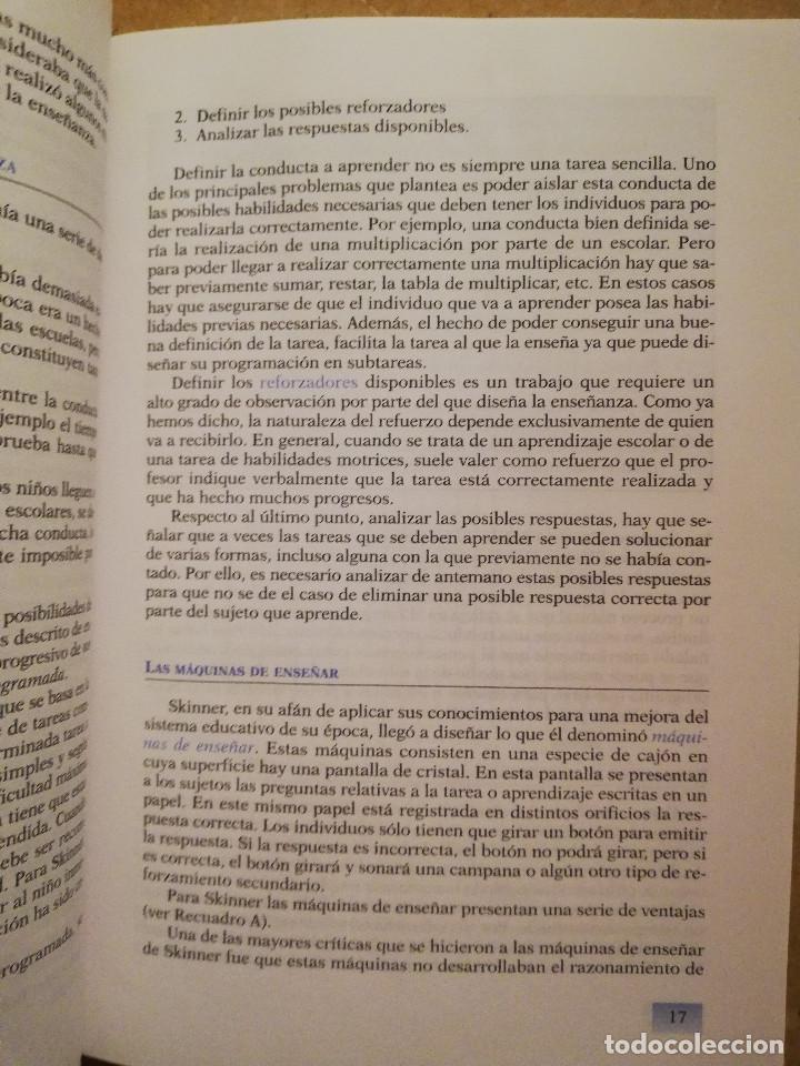 Libros de segunda mano: PRÁCTICAS DE PSICOLOGÍA BÁSICA: APRENDIENDO A INVESTIGAR. MANUAL DE PRÁCTICAS (BALLESTEROS / GARCÍA) - Foto 9 - 152632198