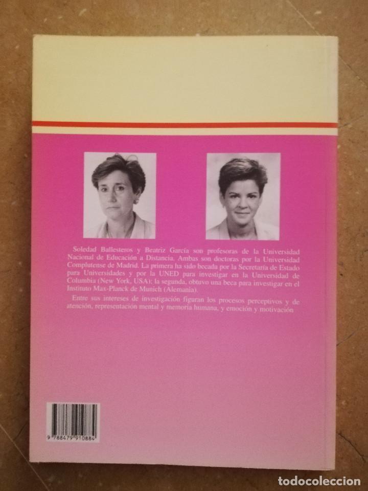 Libros de segunda mano: PRÁCTICAS DE PSICOLOGÍA BÁSICA: APRENDIENDO A INVESTIGAR. MANUAL DE PRÁCTICAS (BALLESTEROS / GARCÍA) - Foto 10 - 152632198