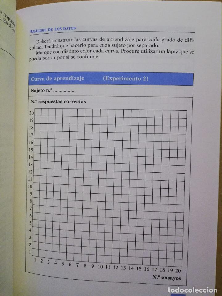 Libros de segunda mano: PRÁCTICAS DE PSICOLOGÍA BÁSICA: APRENDIENDO A INVESTIGAR. CUADERNO DE TRABAJO DEL ESTUDIANTE - Foto 5 - 152632382