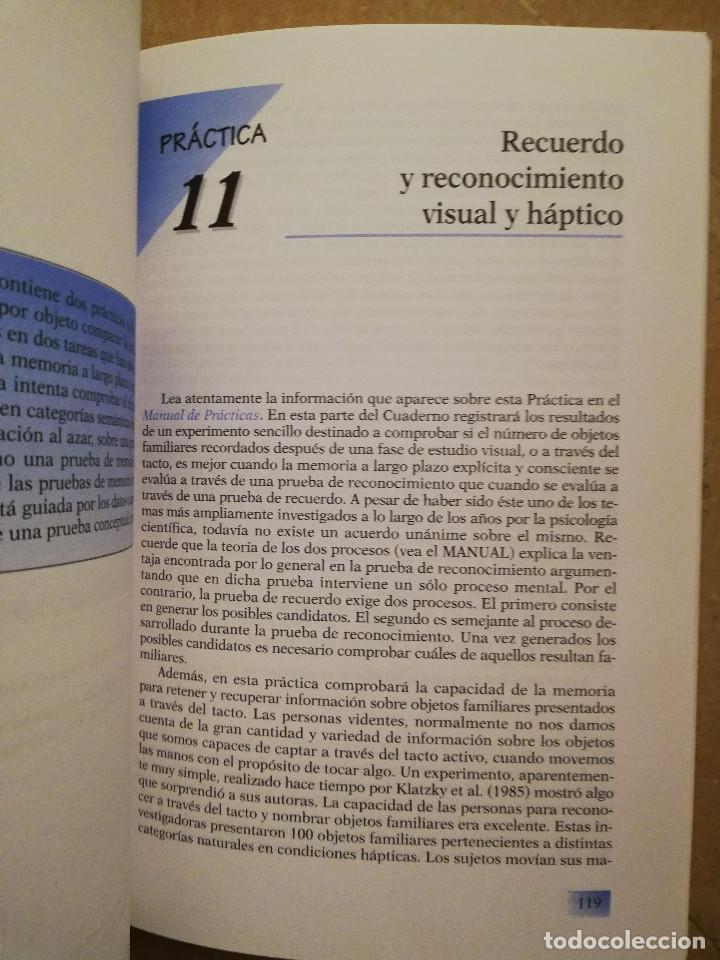 Libros de segunda mano: PRÁCTICAS DE PSICOLOGÍA BÁSICA: APRENDIENDO A INVESTIGAR. CUADERNO DE TRABAJO DEL ESTUDIANTE - Foto 6 - 152632382
