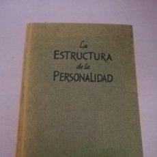 Libros de segunda mano: LA ESTRUCTURA DE LA PERSONALIDAD, POR PHILIPP LERSCH - SCIENTIA - BARCELONA - 1974. Lote 152837826
