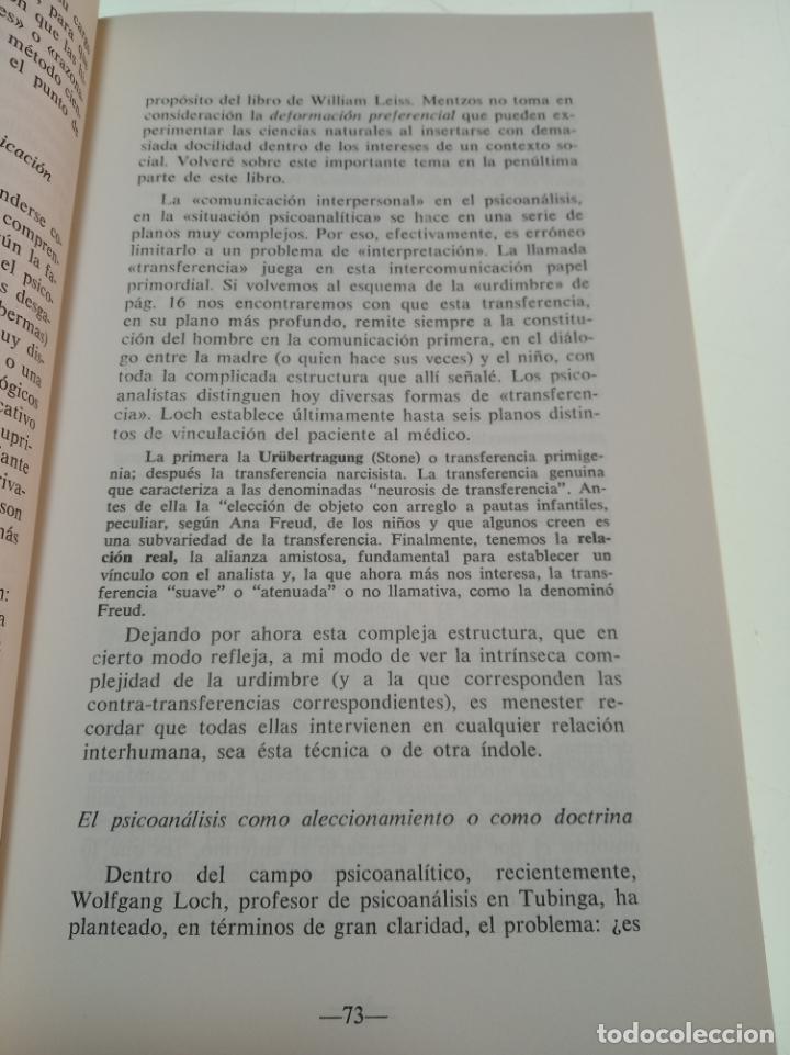 Libros de segunda mano: FRONTERAS VIVAS DEL PSICOANÁLISIS - JUAN ROF CARBALLO - FIRMADO Y DEDICADO - ED. KARPOS - MADRID - - Foto 5 - 153196874
