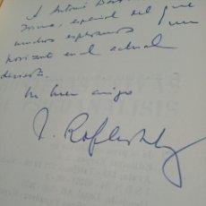 Libros de segunda mano: FRONTERAS VIVAS DEL PSICOANÁLISIS - JUAN ROF CARBALLO - FIRMADO Y DEDICADO - ED. KARPOS - MADRID -. Lote 153196874