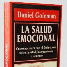 Libros de segunda mano: LA SALUD EMOCIONAL - DANIEL GOLEMAN. KAIRÓS. Lote 153961890