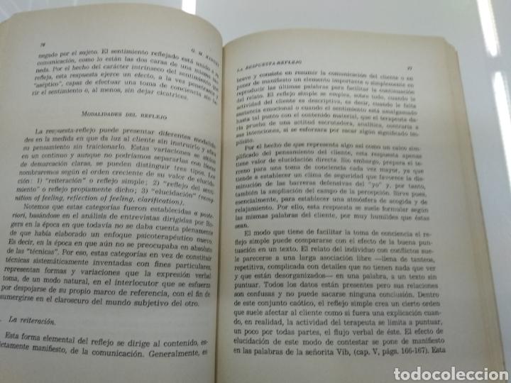 Libros de segunda mano: PSICOTERAPIA Y RELACIONES HUMANAS C. ROGERS G. MARIAN KINGET TEORIA Y PRACTICA 2 TOMOS ALFAGUARA - Foto 7 - 154684954