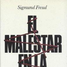 Libros de segunda mano: EL MALESTAR EN LA CULTURA Y OTROS ENSAYOS, SIGMUND FREUD. Lote 155193246