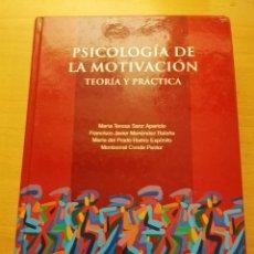 Libros de segunda mano: PSICOLOGÍA DE LA MOTIVACIÓN. TEORÍA Y PRÁCTICA (VV. AA.) UNED (INCLUYE CD). Lote 155694502