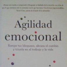 Libros de segunda mano: AGILIDAD EMOCIONAL. Lote 156884802