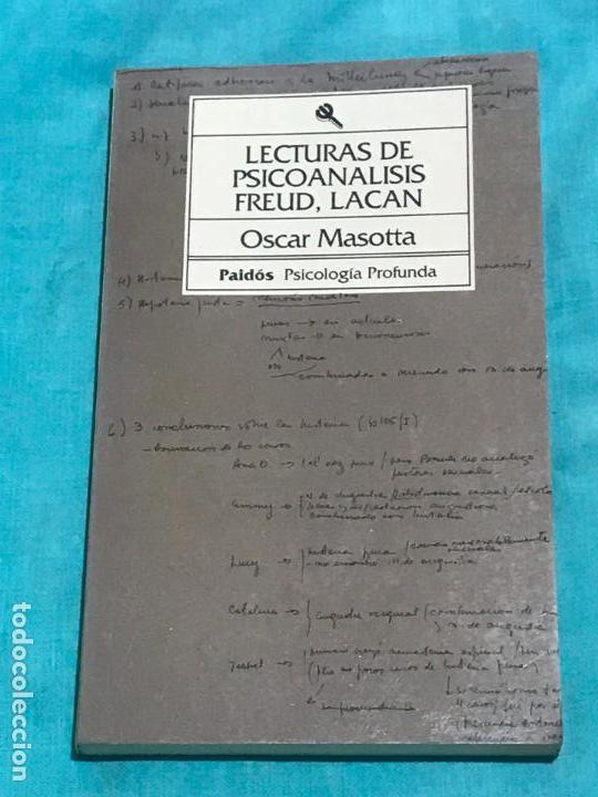 LECTURAS DE PSICOANALISIS: FREUD, LACAN (BIBLIOTECA DE PSICOLOGIA PROFUNDA) TAPA BLANDA – SEP 1993 (Libros de Segunda Mano - Pensamiento - Psicología)
