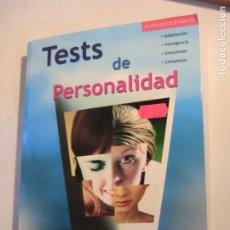 Libros de segunda mano: TEST DE PERSONALIDAD. . Lote 157969270