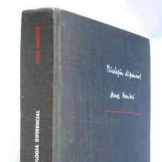Libri di seconda mano: PSICOLOGIA DIFERENCIAL - ANNE ANASTASI - EDITORIAL AGUILAR. 1971. Lote 159171798