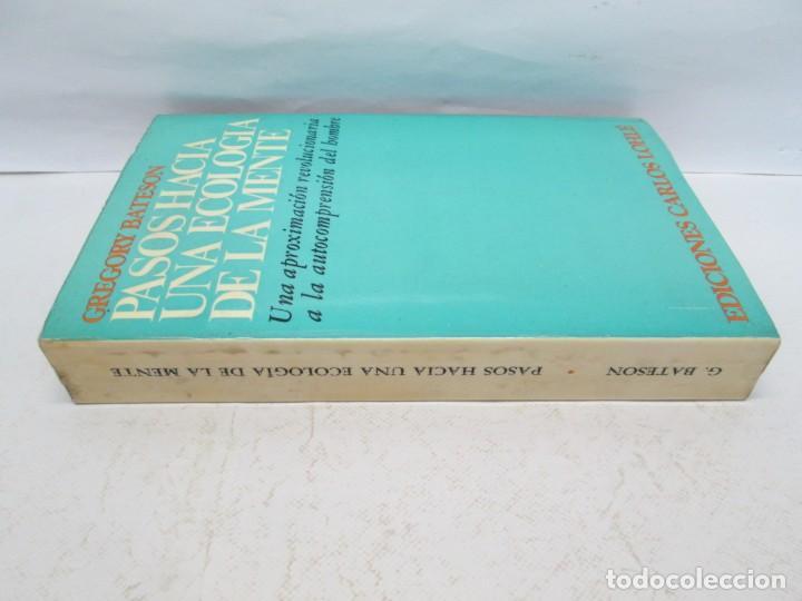 Libros de segunda mano: GREGORY BATESON. PASOS HACIA UNA ECOLOGIA DE LA MENTE. EDICIONES CARLOS LOHLE. 1972 - Foto 2 - 159261710