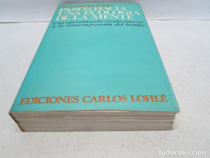 Libros de segunda mano: GREGORY BATESON. PASOS HACIA UNA ECOLOGIA DE LA MENTE. EDICIONES CARLOS LOHLE. 1972 - Foto 3 - 159261710