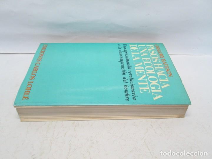 Libros de segunda mano: GREGORY BATESON. PASOS HACIA UNA ECOLOGIA DE LA MENTE. EDICIONES CARLOS LOHLE. 1972 - Foto 4 - 159261710