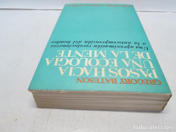 Libros de segunda mano: GREGORY BATESON. PASOS HACIA UNA ECOLOGIA DE LA MENTE. EDICIONES CARLOS LOHLE. 1972 - Foto 5 - 159261710