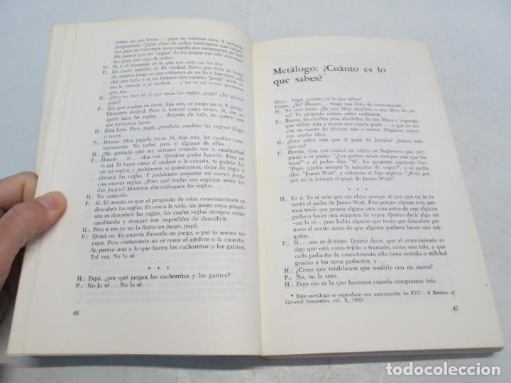 Libros de segunda mano: GREGORY BATESON. PASOS HACIA UNA ECOLOGIA DE LA MENTE. EDICIONES CARLOS LOHLE. 1972 - Foto 10 - 159261710