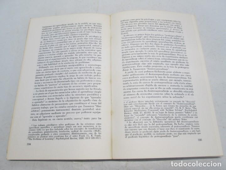 Libros de segunda mano: GREGORY BATESON. PASOS HACIA UNA ECOLOGIA DE LA MENTE. EDICIONES CARLOS LOHLE. 1972 - Foto 13 - 159261710