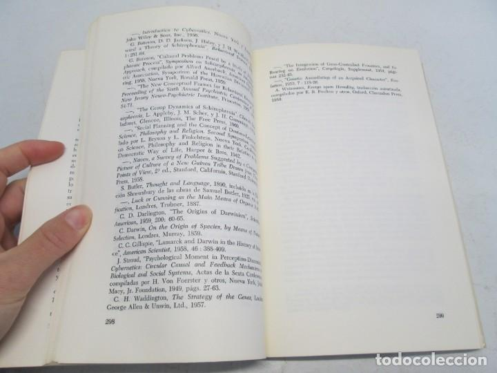 Libros de segunda mano: GREGORY BATESON. PASOS HACIA UNA ECOLOGIA DE LA MENTE. EDICIONES CARLOS LOHLE. 1972 - Foto 14 - 159261710