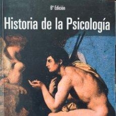 Libros de segunda mano: HISTORIA DE LA PSICOLOGÍA. THOMAS H. LEAHEY. PEARSON, PRENTICE HALL. 2009.. Lote 159557620