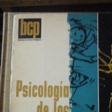 Libros de segunda mano: PSICOLOGIA DE LOS JUEGOS INFANTILES (BUENOS AIRES, 1973). Lote 159560438