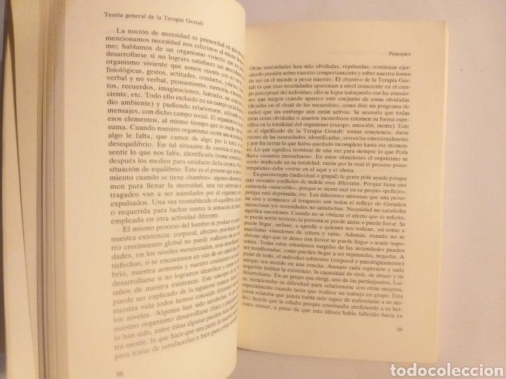 Libros de segunda mano: Psicología . Terapia Gestalt enfoque centrado en el aquí y él ahora . Celedonio Castanedo - Foto 11 - 160879481