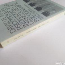 Libros de segunda mano: PSICOLOGÍA . PSICOTERAPIA INDIVIDUAL Y LA CIENCIA DE LA PSICODINÁMICA . DAVID H. MALAN. Lote 160931801