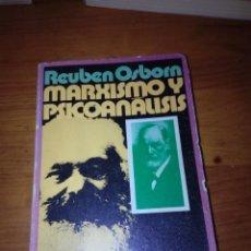 Libros de segunda mano: MARXISMO Y PSICOANALISIS. REUBEN OSBORN. EST17B6. Lote 161391946